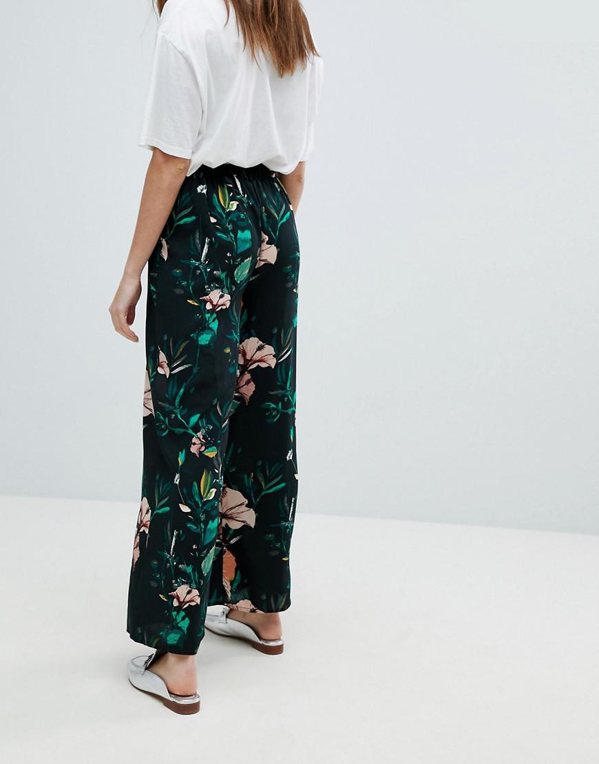 Discount Wholesale Price Outlet How Much Only Floral wide leg trouser Sale Cheap Price Amazing Price Cheap Online Best Store To Get For Sale m55MZ2