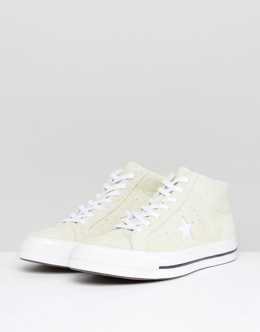 Converse One Star Mid Top Plimsolls In Yellow 159594C cheap sale tumblr reliable cheap online free shipping limited edition gjbIX