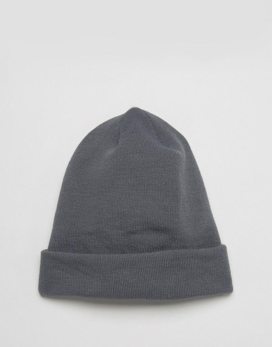 Lyst - The North Face Dock Worker Beanie Retro Label In Grey in Gray ... 1d4e0236da13