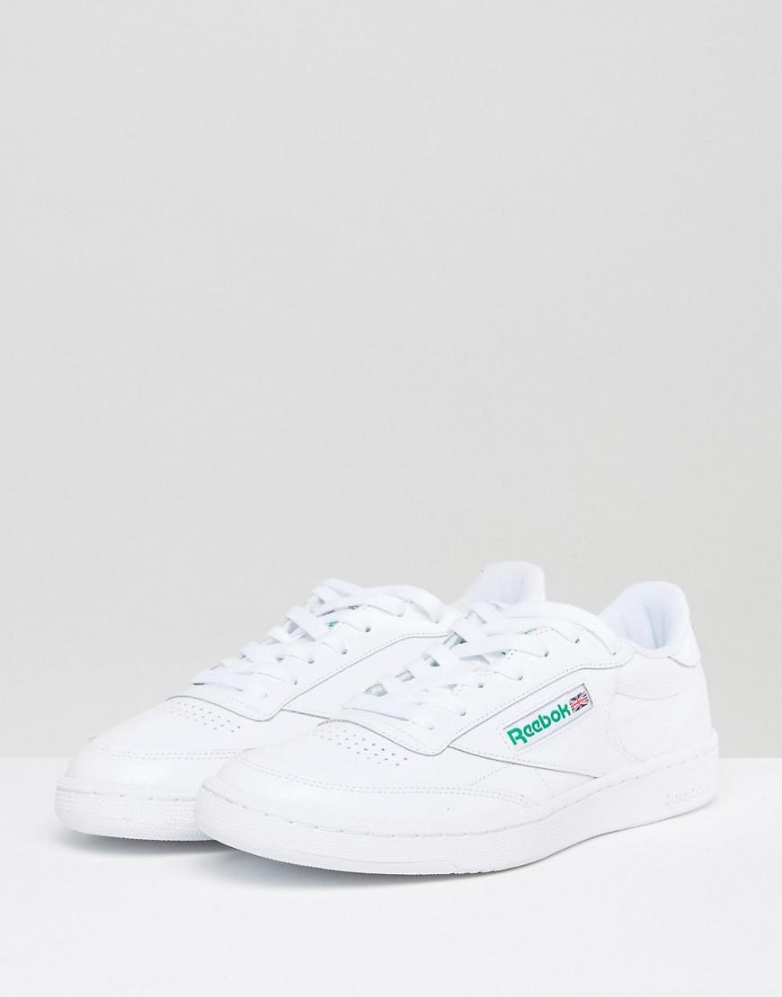 Reebok Club C 85 Trainers In White Ar0456 in White for Men - Lyst b4cd58963