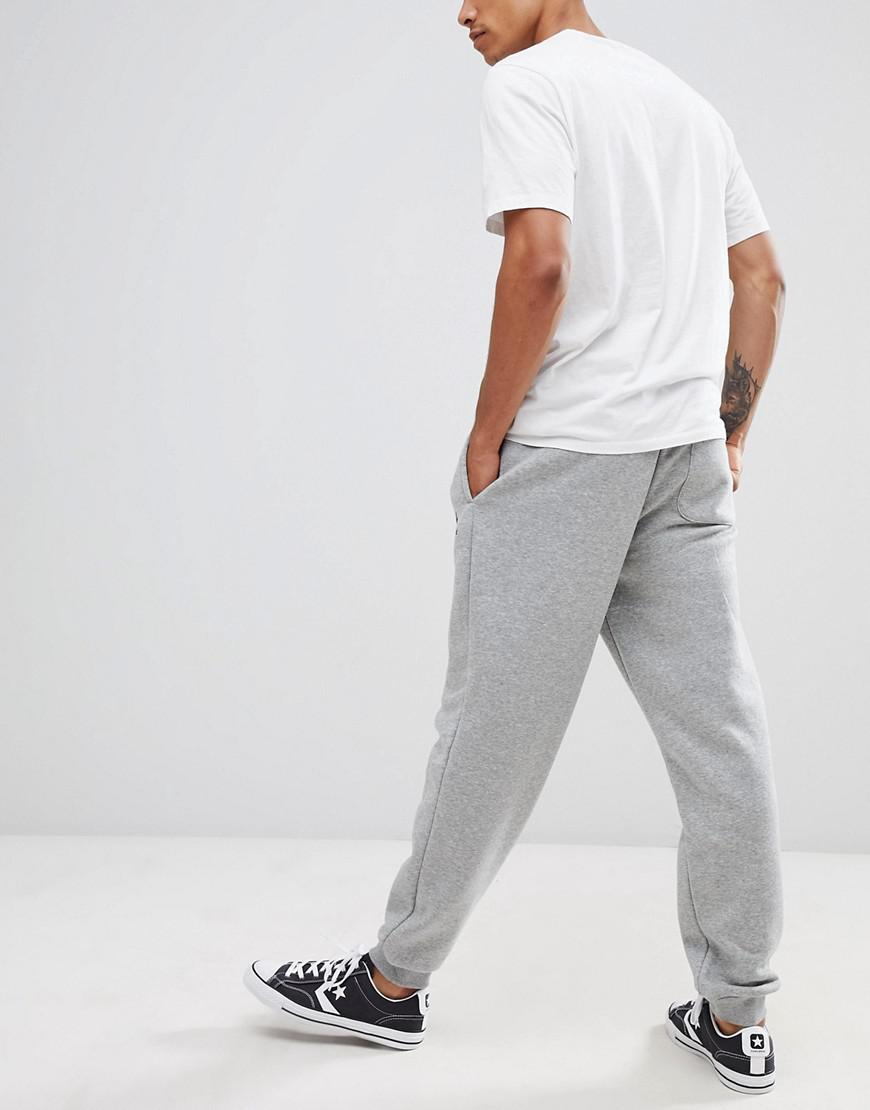 3773c08cadcde7 Lyst - Converse Sweatpants In Gray 10008815-a03 in Gray for Men