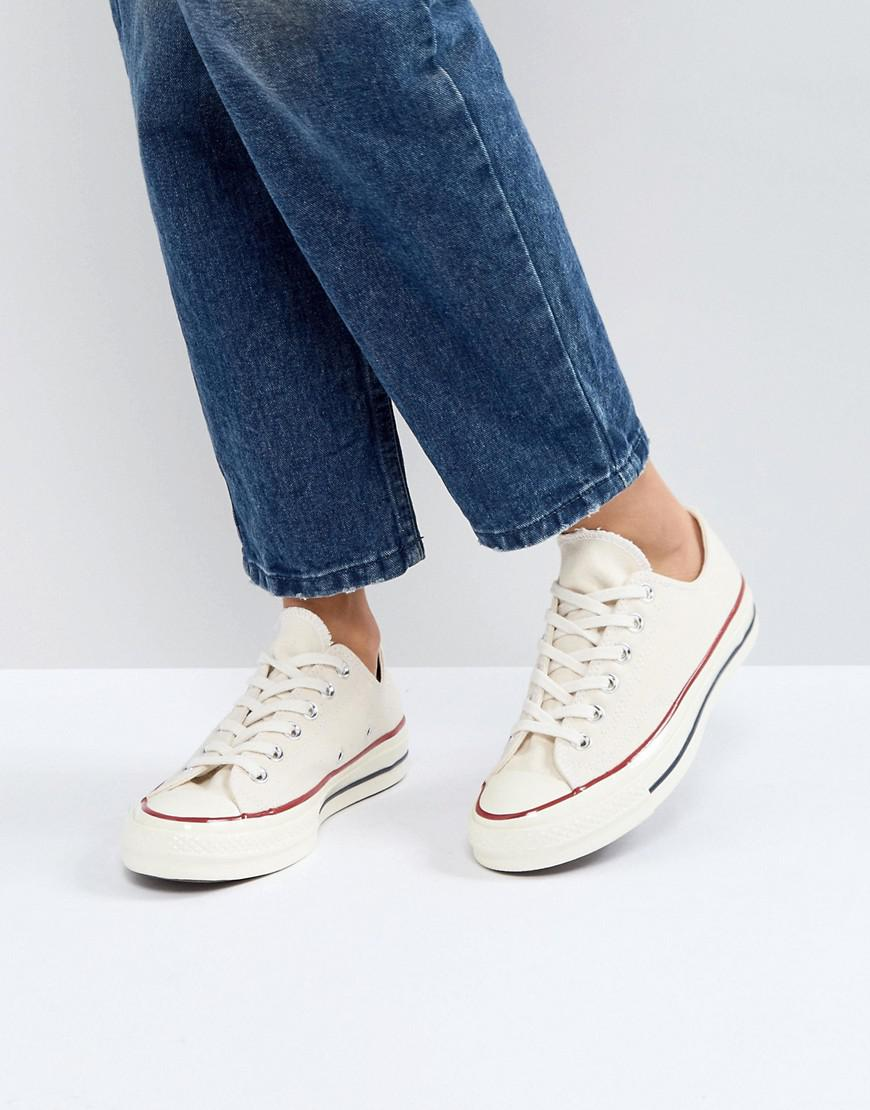 213a94098fcd1b Lyst - Converse Chuck Taylor All Star  70 Sneakers In Parchment in ...