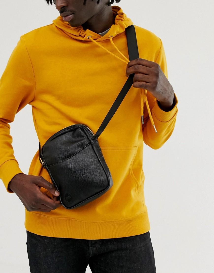 Mi-Pac Tumbled Flight Bag In Black in Black for Men - Lyst 414eac68f39e4
