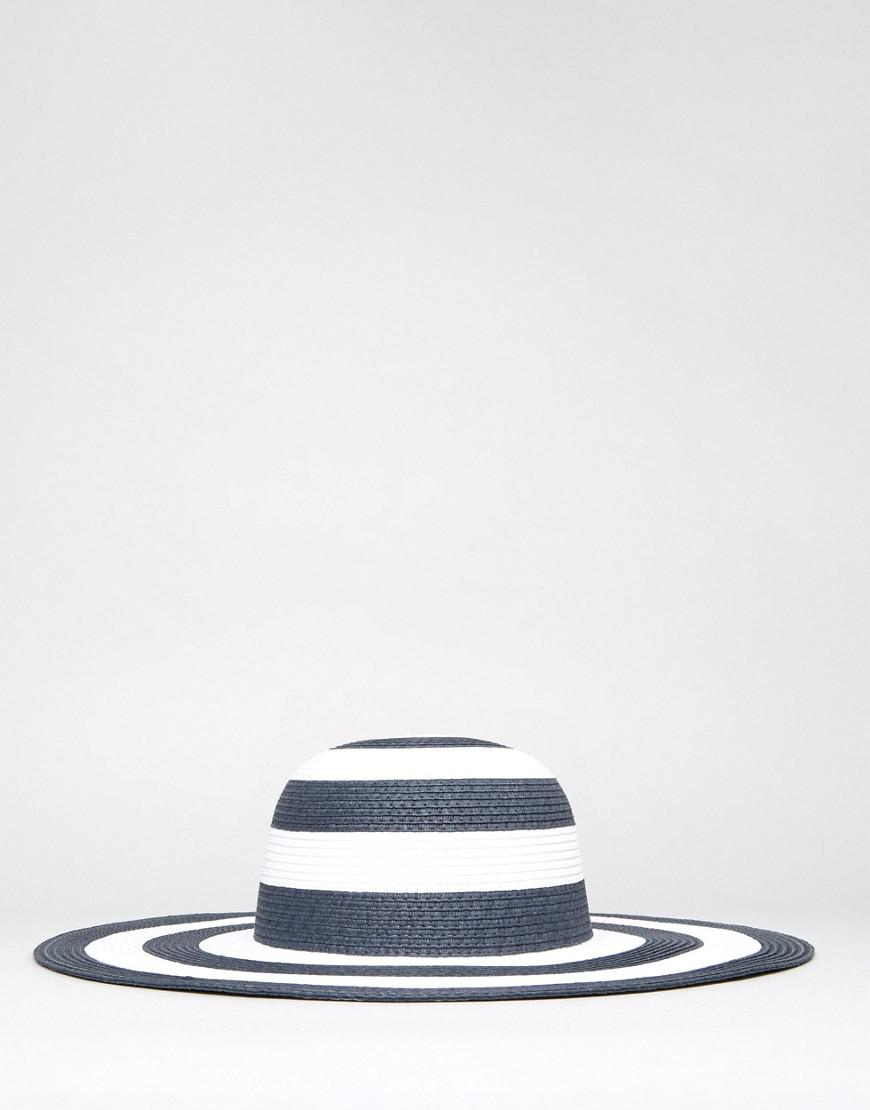 fa5e77e064cd0 French Connection Oversized Floppy Straw Beach Hat - Lyst