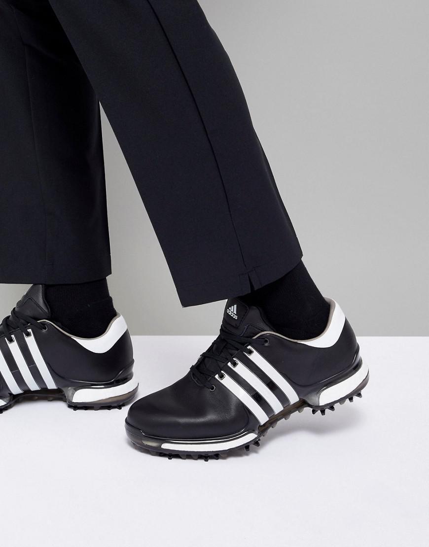 lyst adidas originali tour 360 impulso scarpe in nero q44945 in