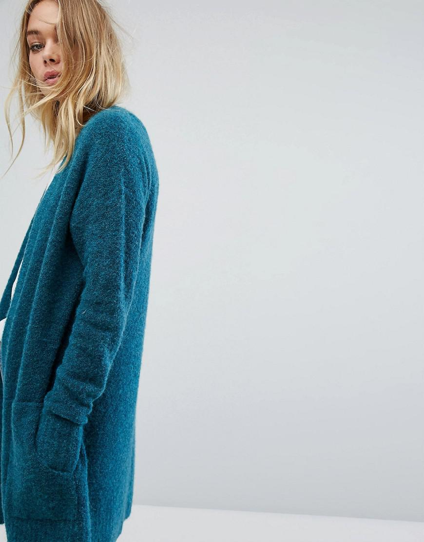 Esprit Oversized Longline Cardigan in Green | Lyst