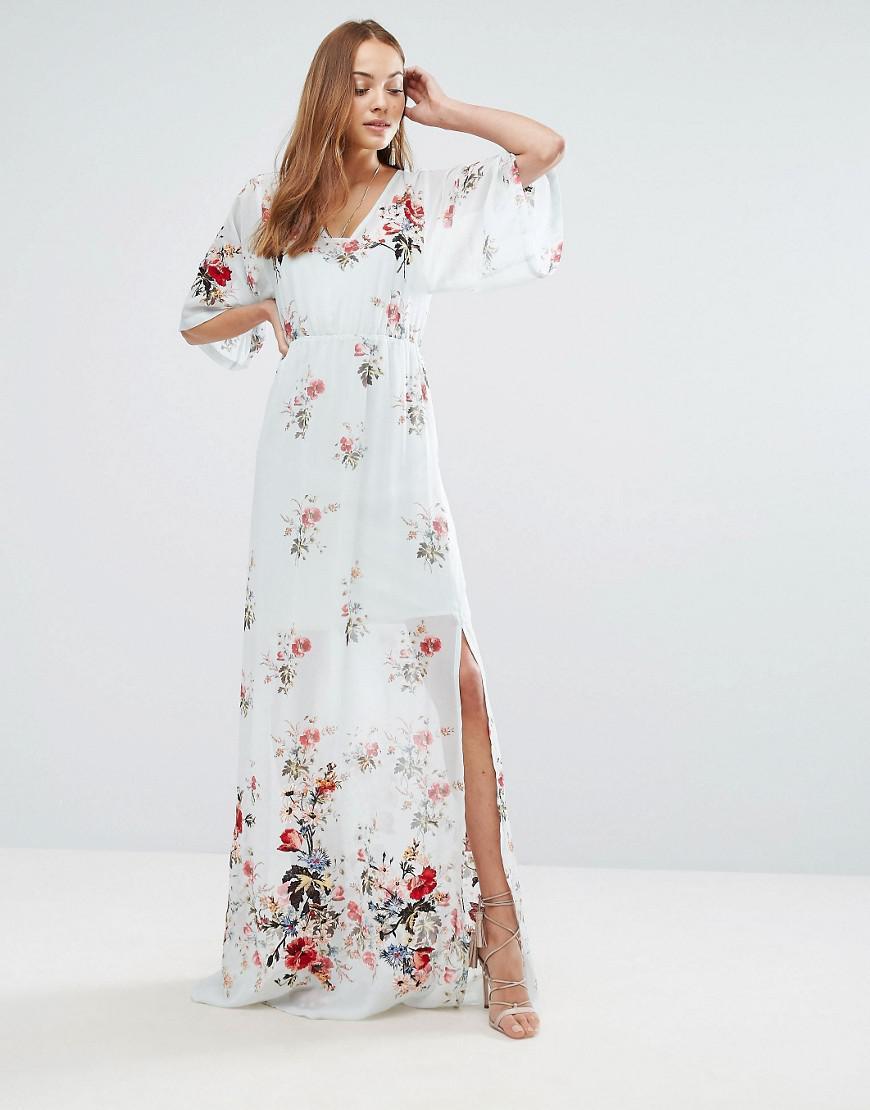 df6b4a5f7437 Asos Salon Embroidered Floral Maxi Dress – DACC