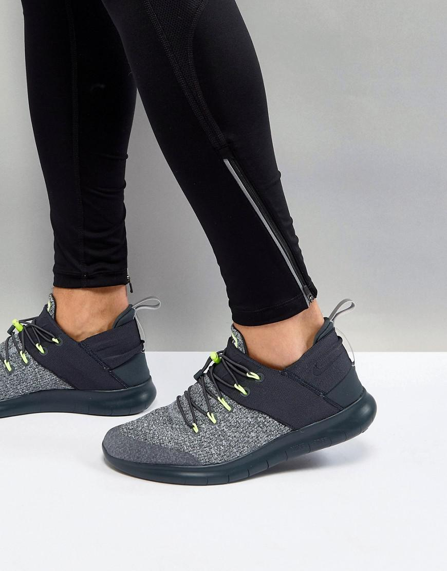 new product 51415 5e040 Nike Free Free Free Run Cmtr Heritage Baskets In Grey 922910 001 in Gris  for 95bb1e