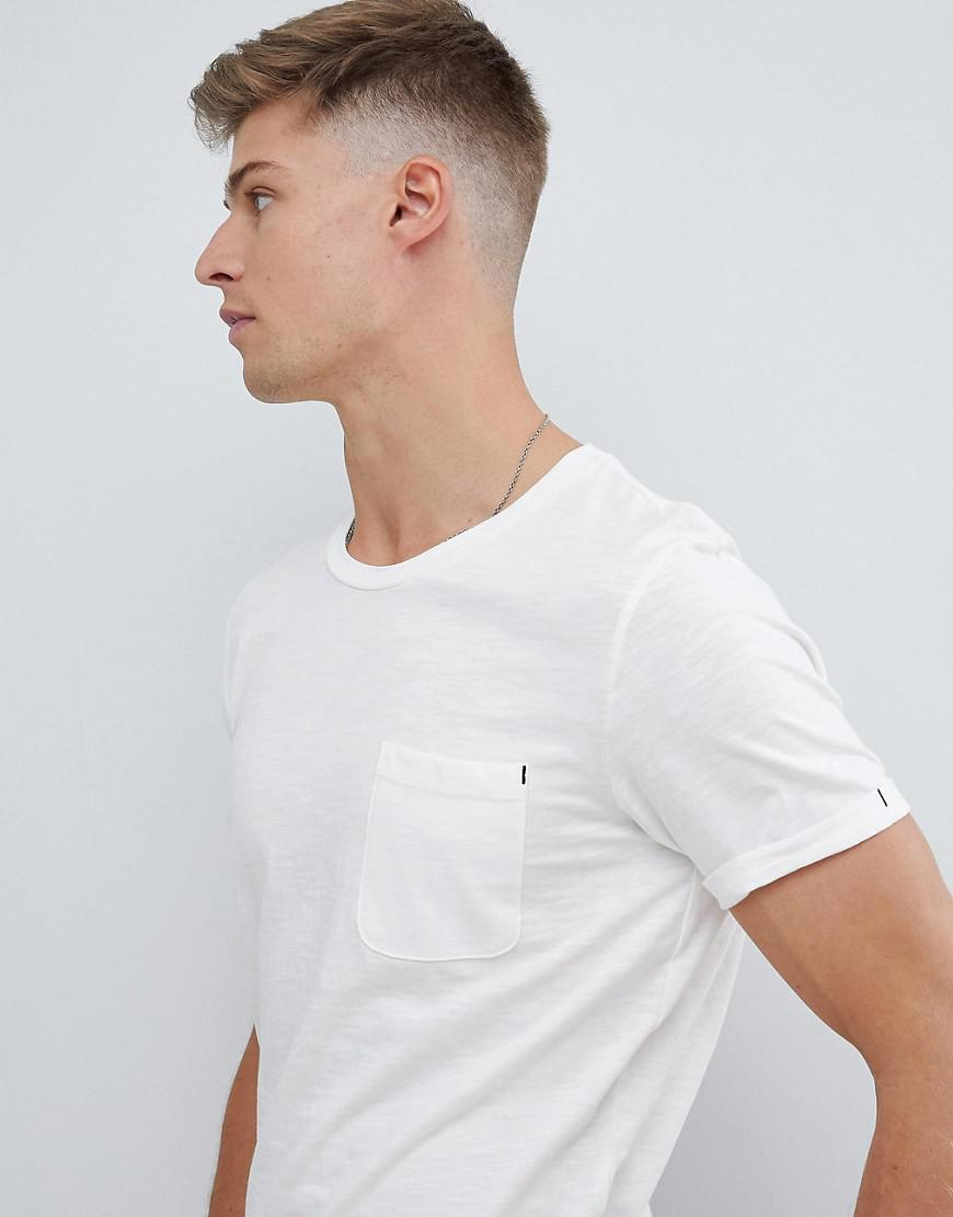 1078eca4c625 Produkt - White Basic Longline T-shirt for Men - Lyst. View fullscreen