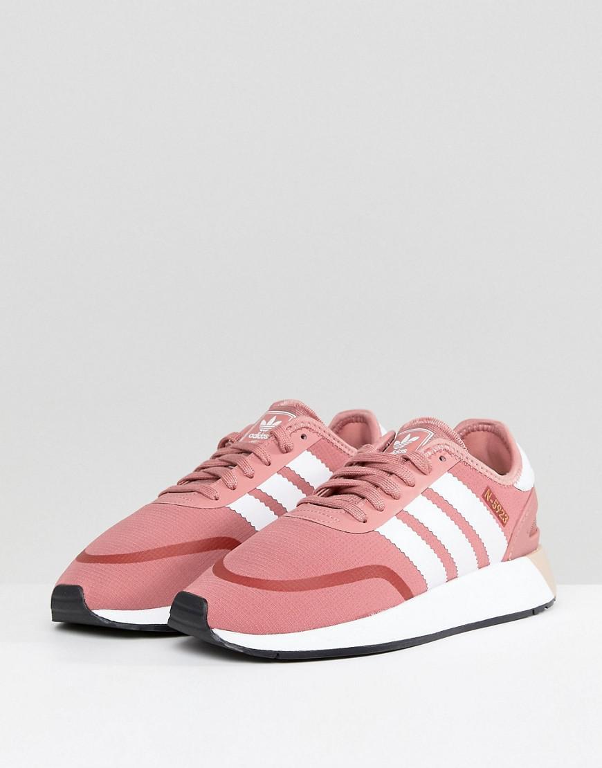 online retailer a4483 e792d Lyst - adidas Originals Originals N-5923 Trainers In Pink in