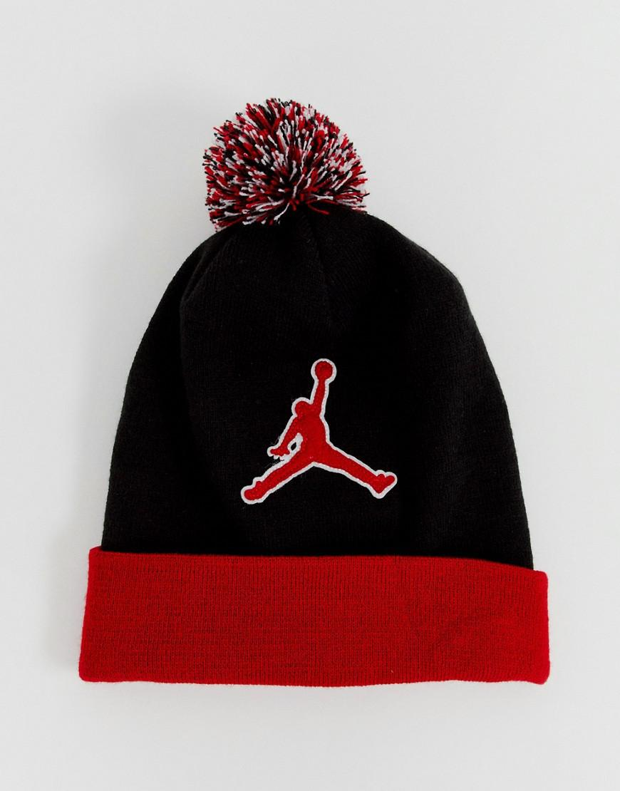 best service 95dd7 a3a4e Nike Nike Jumpman Beanie In Red Aa1302-010 in Red for Men - Lyst