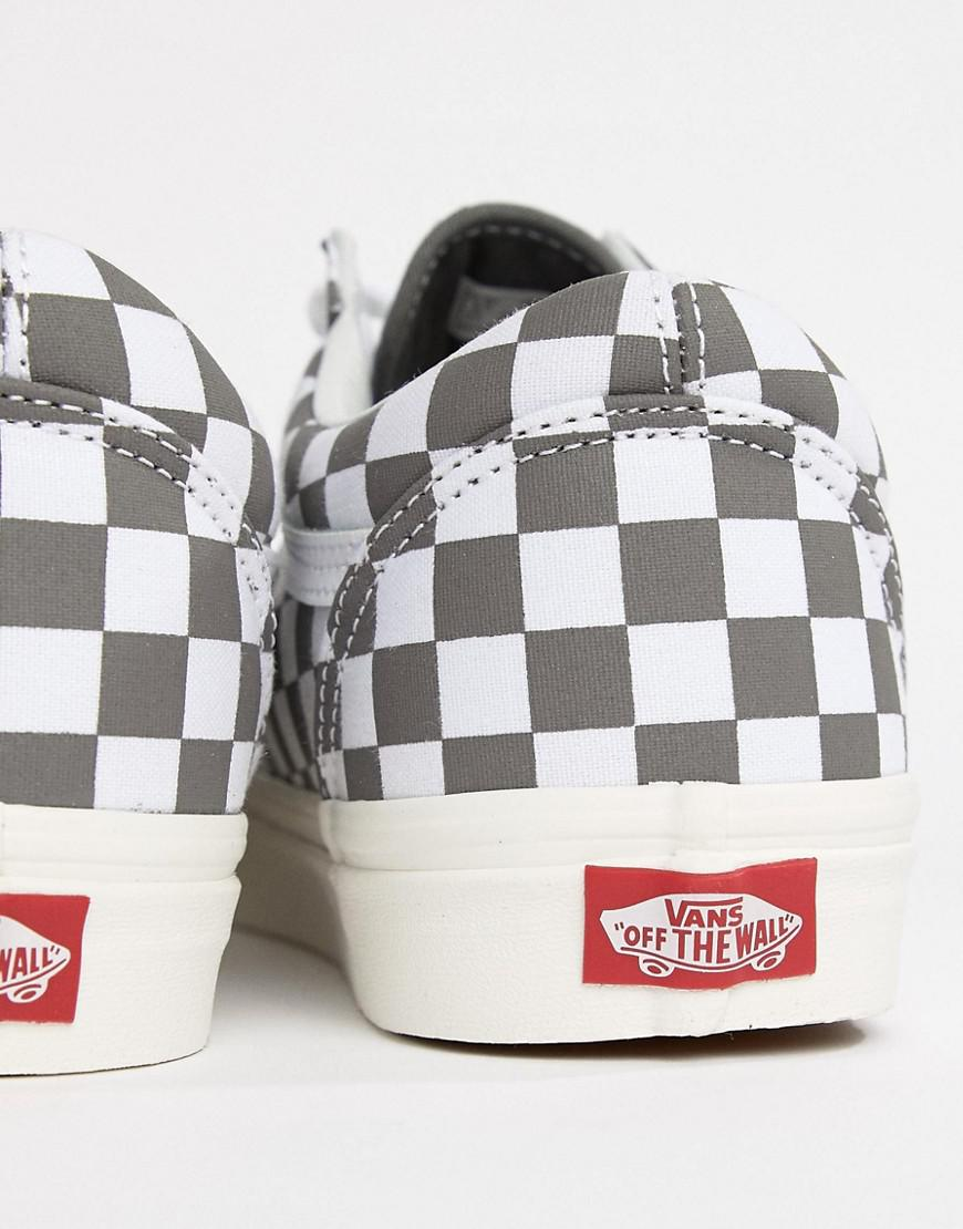 Vans Old Skool Checkerboard Trainers In Grey Vn0a38g1u531 in Gray for Men -  Lyst 1db82f21d