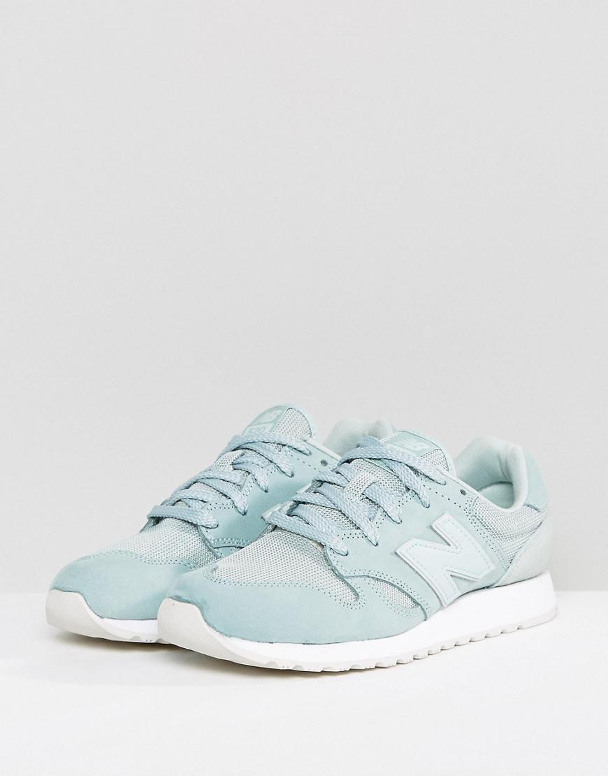 New Balance 520 Suede Trainers In Mint Green Lyst