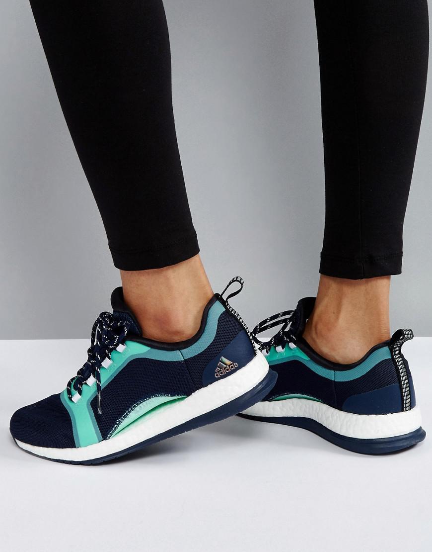 Xtr2 Lyst Adidas Pure Boost entrenador en azul