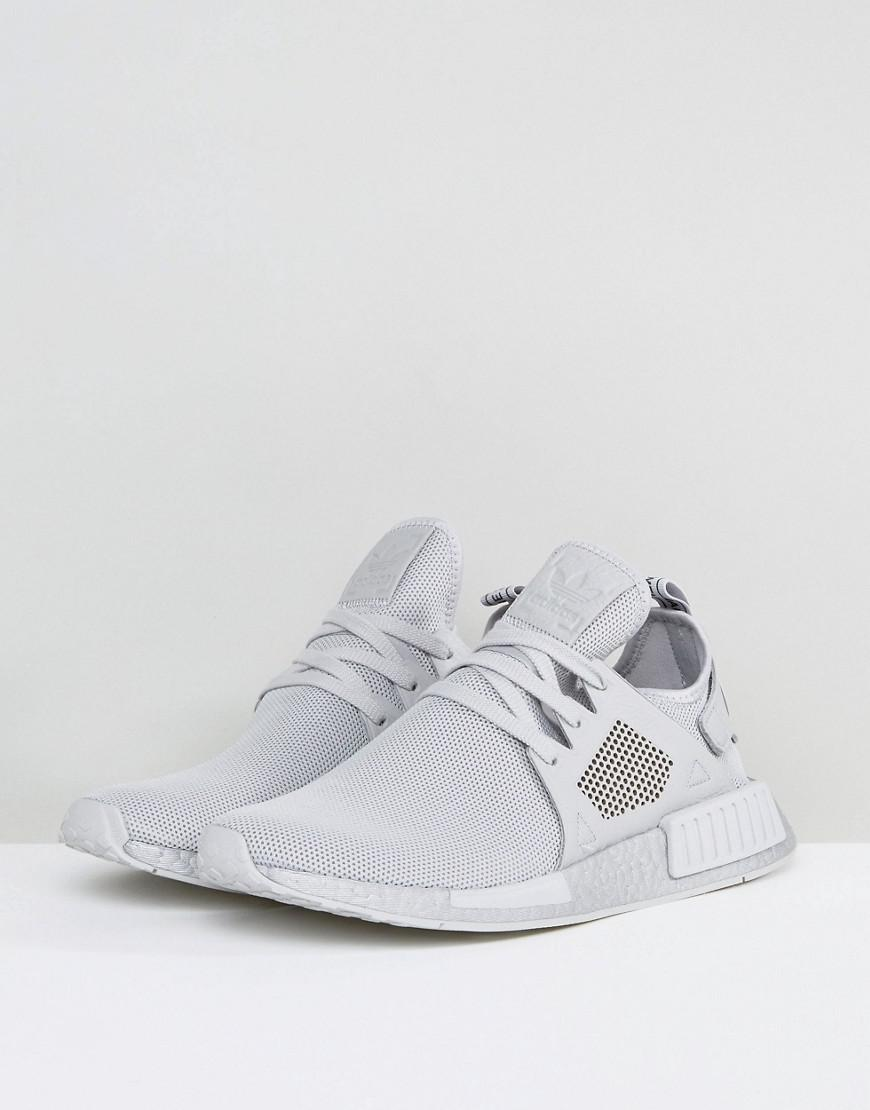 Lyst adidas Originals NMD XR1 plata impulsar by9923 zapatillas gris