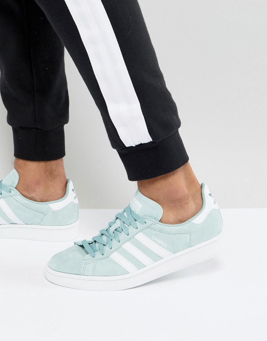 959538af312 Lyst - adidas Originals Campus Sneakers In Green Bz0082 in Green for Men