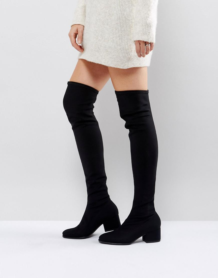 345123444cc Lyst - Vagabond Daisy Over The Knee Boots in Black