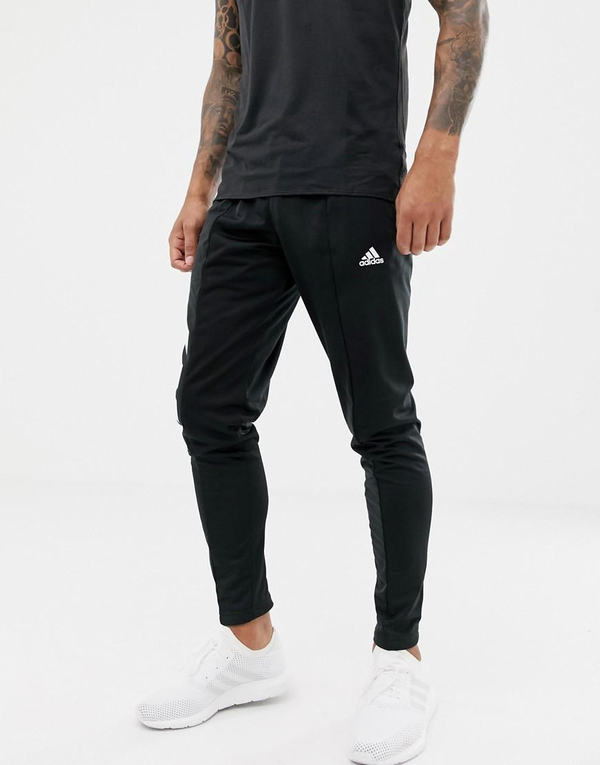 e6818772bcae Lyst - adidas Tango Skinny Soccer Sweatpants In Black in Black for Men
