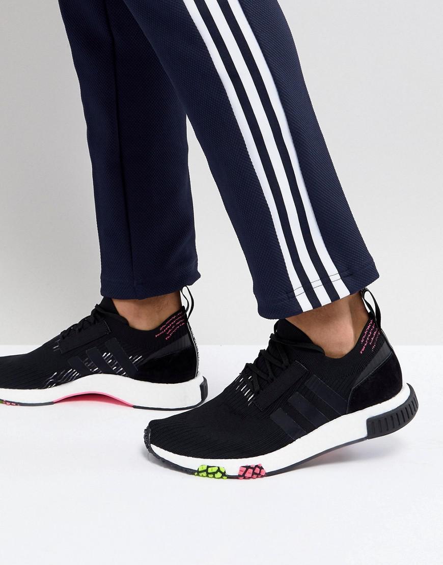 Adidas Originals Formateurs Nmd Coureur De Primeknit Dans Cq2441 Noir - Noir 7auEffQ