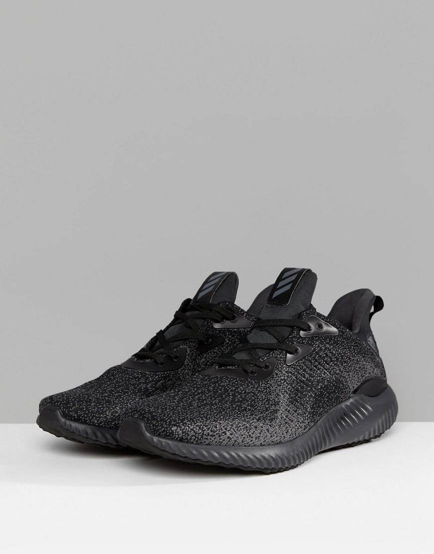 4a91ddf202aa Lyst - adidas Running Alphabounce Sneakers In Black Db1090 in Black for Men
