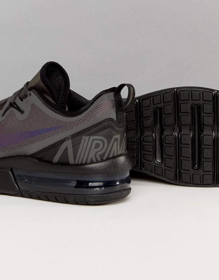 8a70eb7c5ac4 Nike Air Max Fury Trainers In Midnight Fog Aa5739-008 in Black for ...