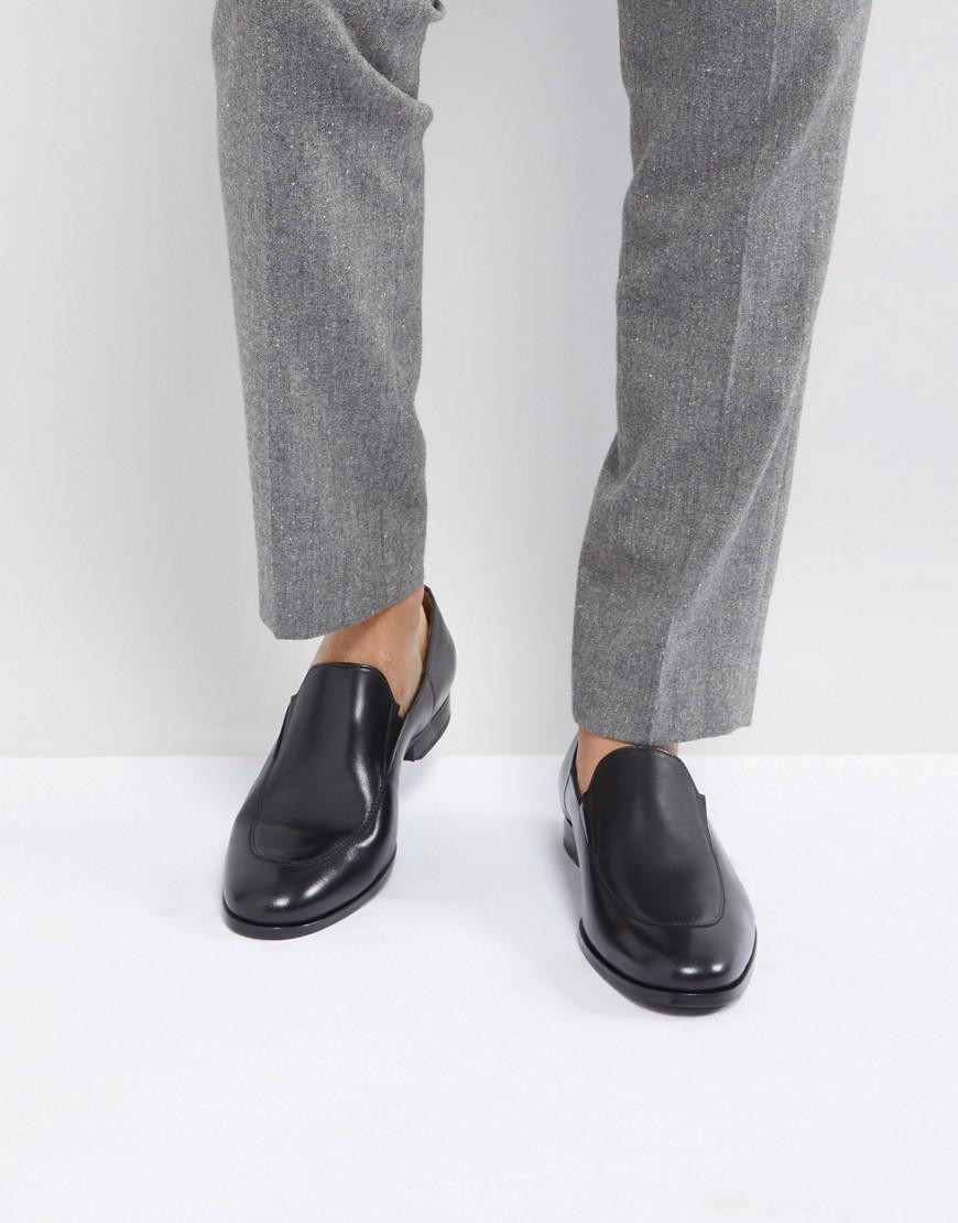 HUGO BOSS Hanover Leather Loafers in
