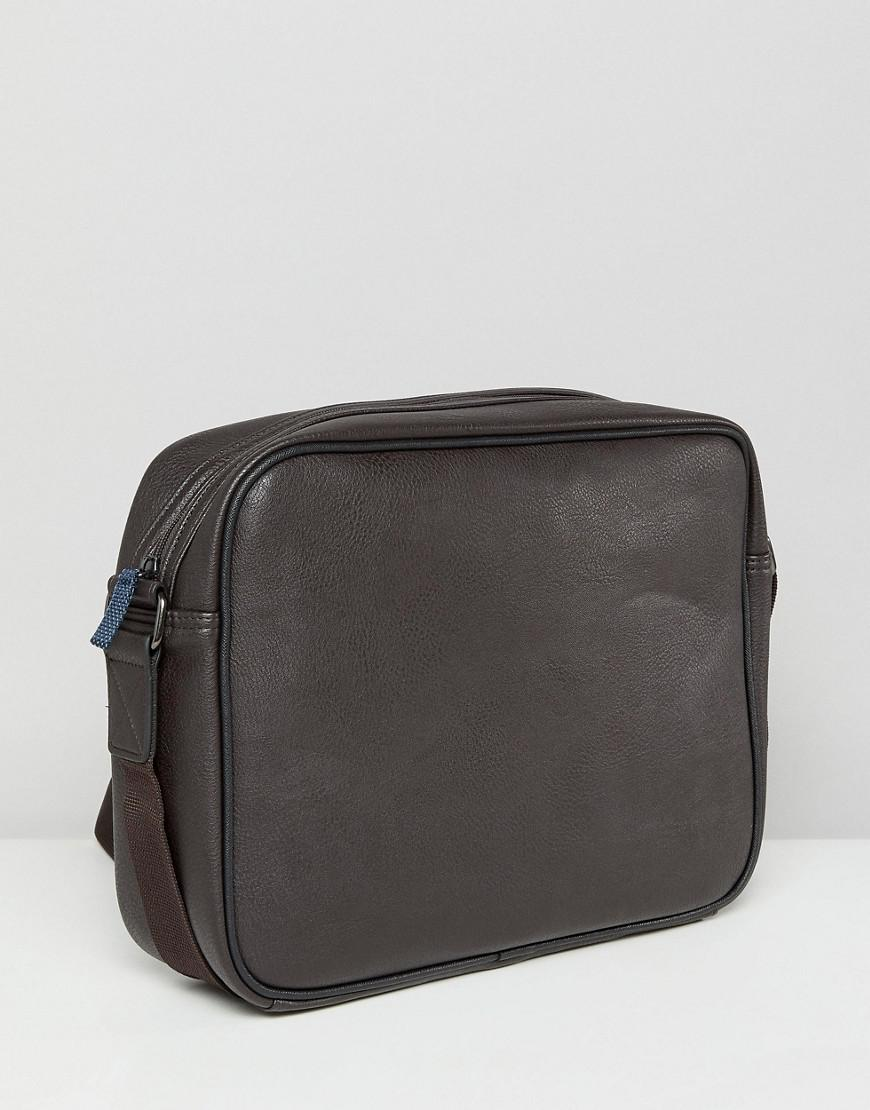 Ted Baker Delano Webbing Messenger Bag in Brown for Men - Lyst fc820227ea