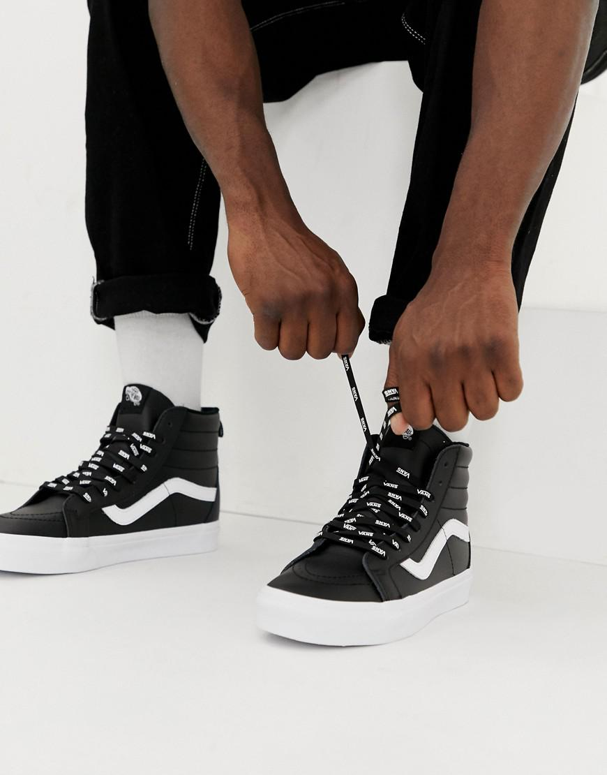 f79de89e6a Vans - Sk8-hi Otw Pack Sneakers In Black Vn0a2xsbukm1 for Men - Lyst. View  fullscreen