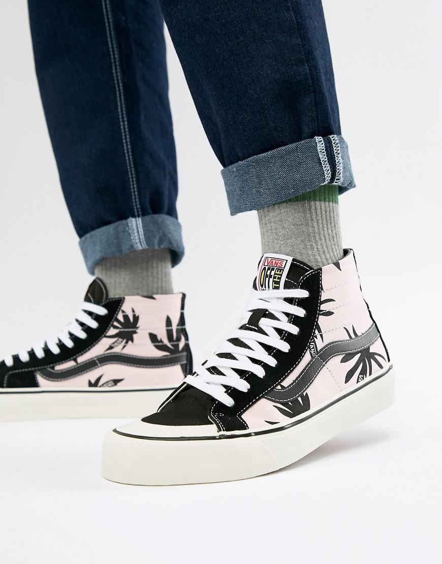 Vans - Sk8-hi 138 Decon Sf Sneakers In Pink Va3mv1r33 for Men - Lyst. View  fullscreen 48a3fe33f