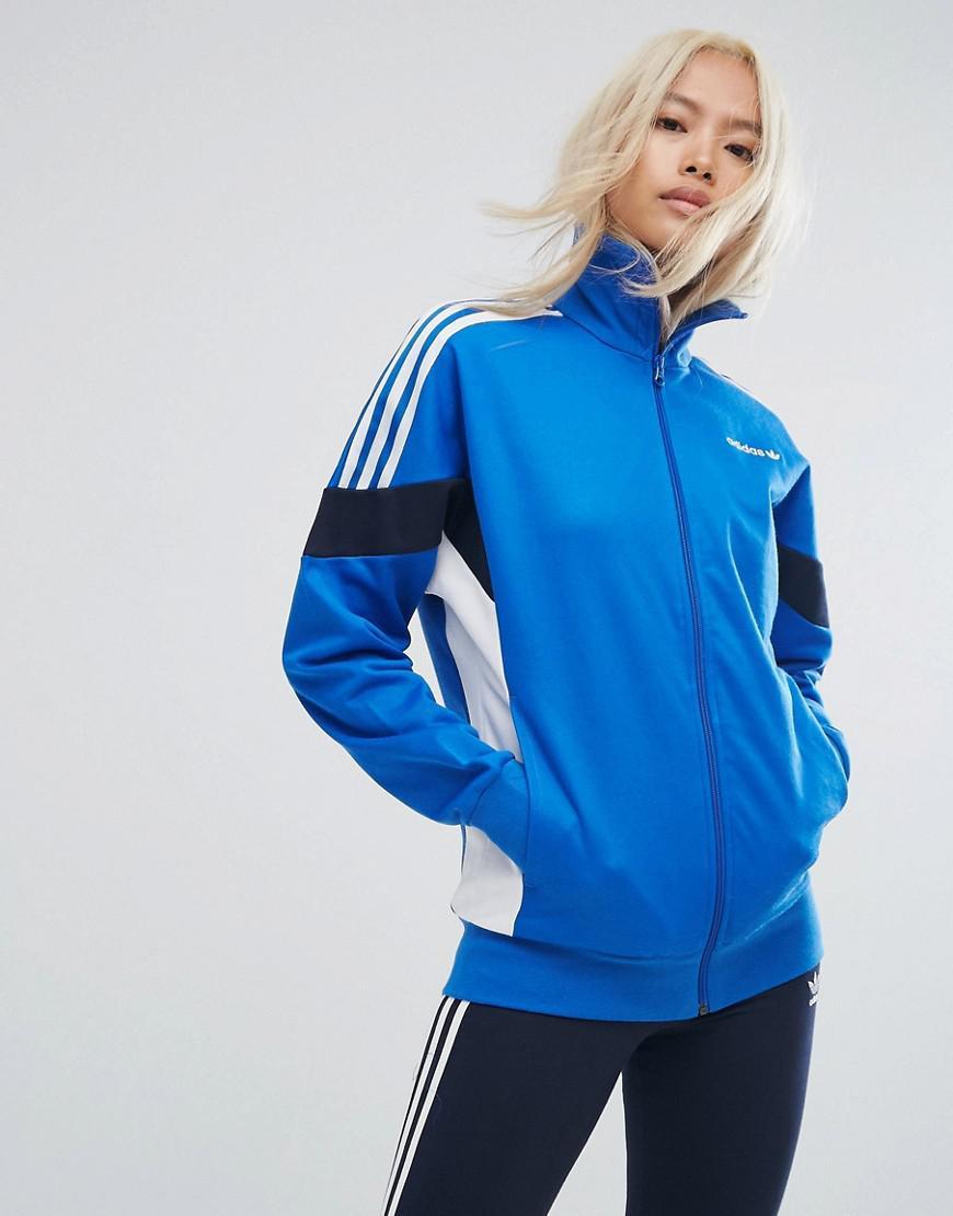 dde2f9cb8576 Lyst - adidas Originals Originals Clr84 Track Jacket in Blue