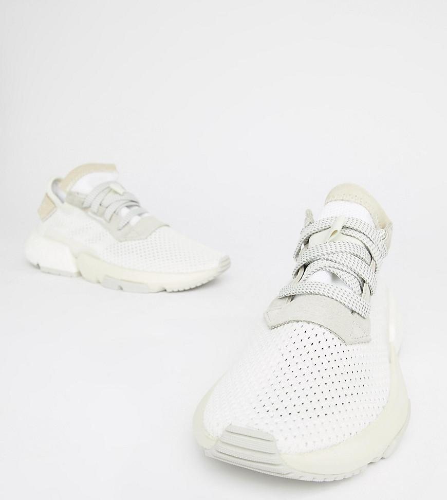 Lyst Adidas Originals Pod S3 1 Trainers In Triple White In White