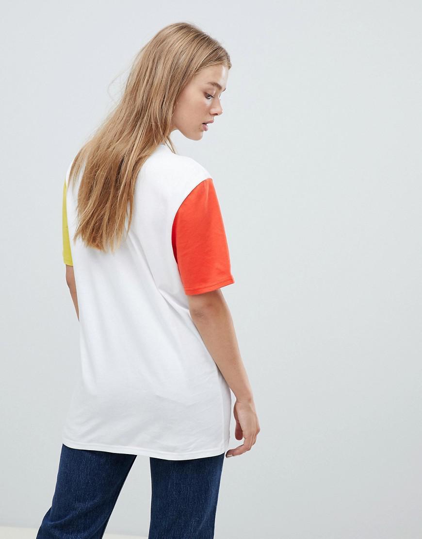 79a3d76b Nike Exclusive To Asos Color Block Swoosh Pack Boyfriend Fit T-shirt ...