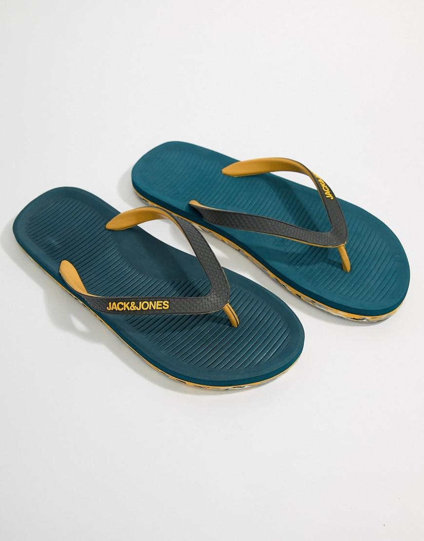 Thongs With Moulded Sole - Blue Jack & Jones JcCRb