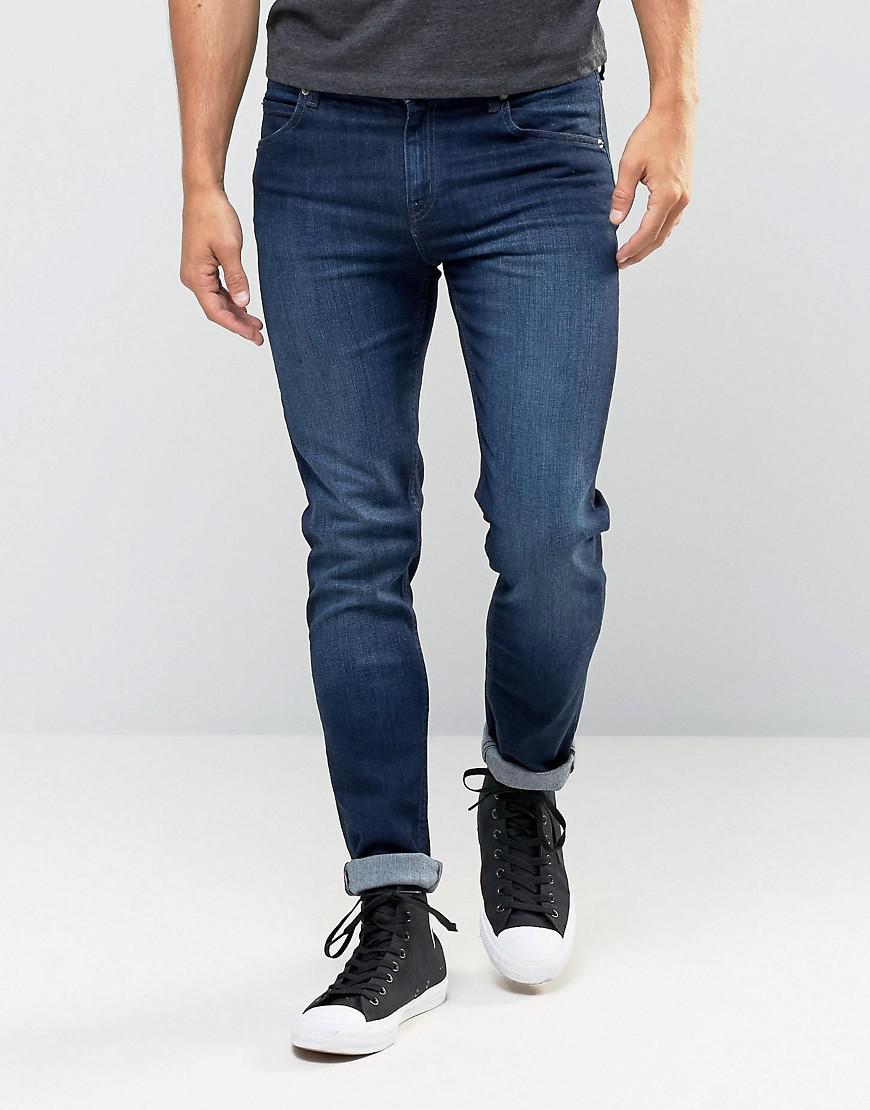 cheap monday jeans tight stretch skinny fit deep indigo. Black Bedroom Furniture Sets. Home Design Ideas