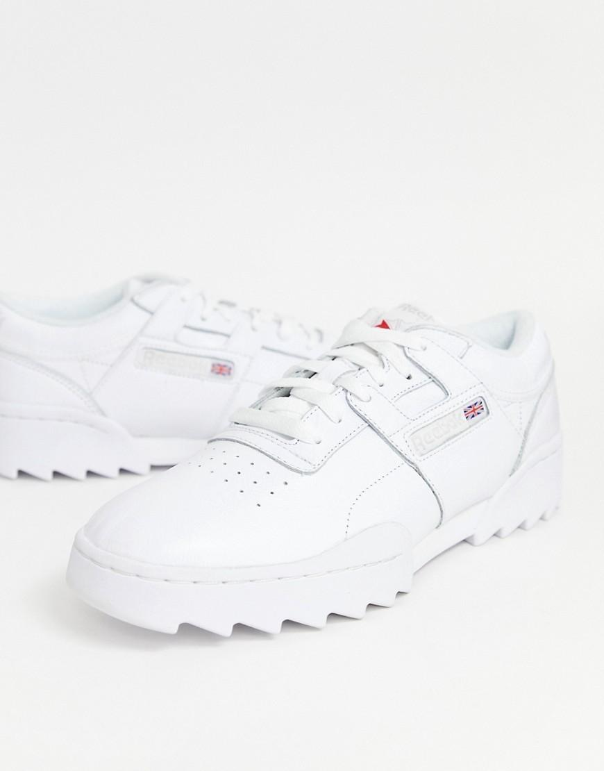 6339ac44a2a55 Reebok Workout Ripple Trainers In White Dv5326 in White for Men - Lyst