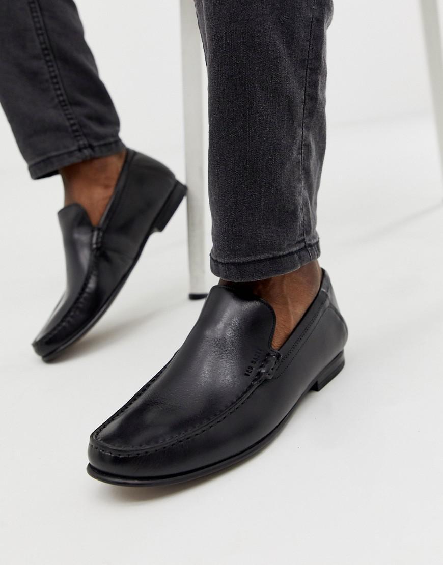 dae3cc3dda5622 Ted Baker Lassil Loafer In Black in Black for Men - Lyst