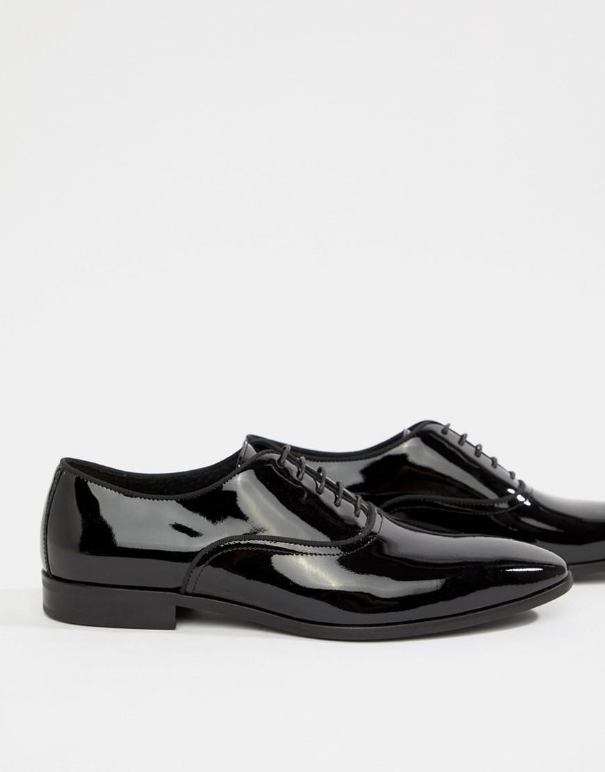 Kurt Geiger Ralph Patent Oxford Shoes 3gxhpyMrM