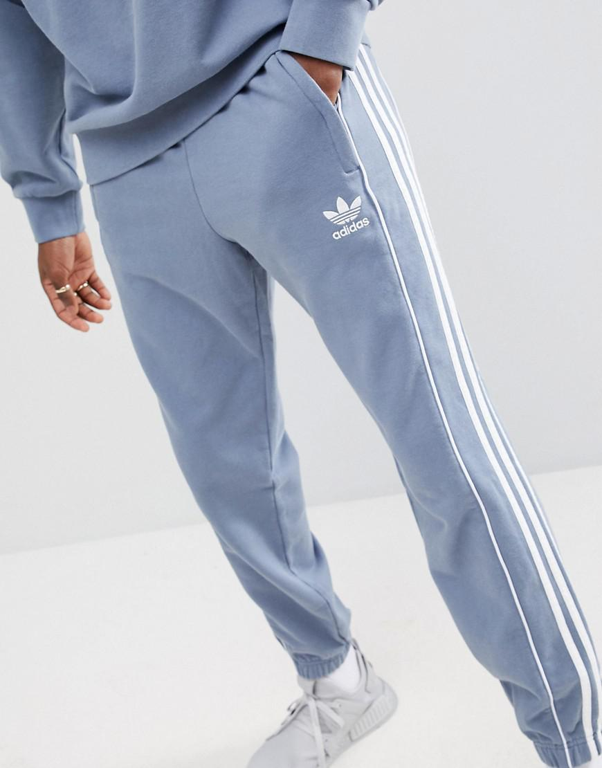 8b9d1a767f24 Lyst - adidas Originals Nova Retro Joggers In Grey Ce4810 in Gray ...
