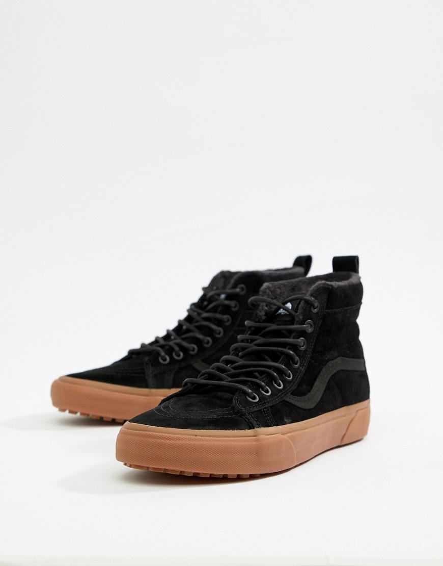 64bb836a049b31 Vans Sk8-hi Mte Sneakers In Black Vn0a33txgt7 in Black for Men - Lyst