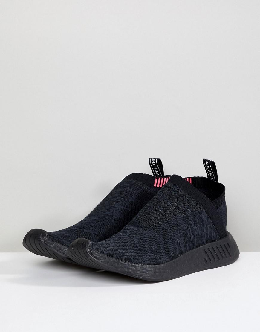info for c4bf8 52bee Lyst - adidas Originals Nmd Cs2 Primeknit Boost Sneakers In Black Cq2373 in  Black for Men