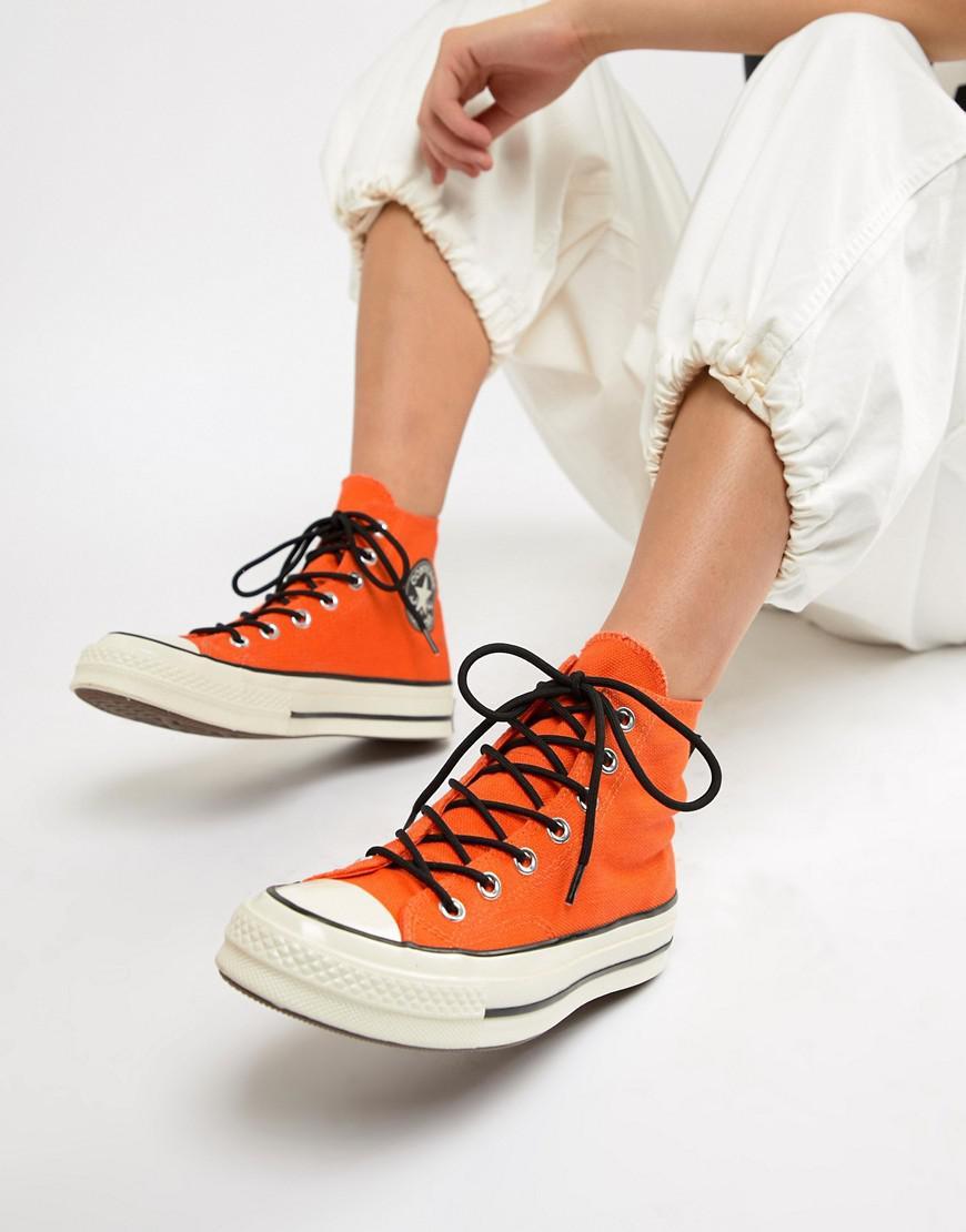 95f07636397 Converse X Gore-tex Chuck 70 Hi Orange Waterproof Sneakers. View fullscreen