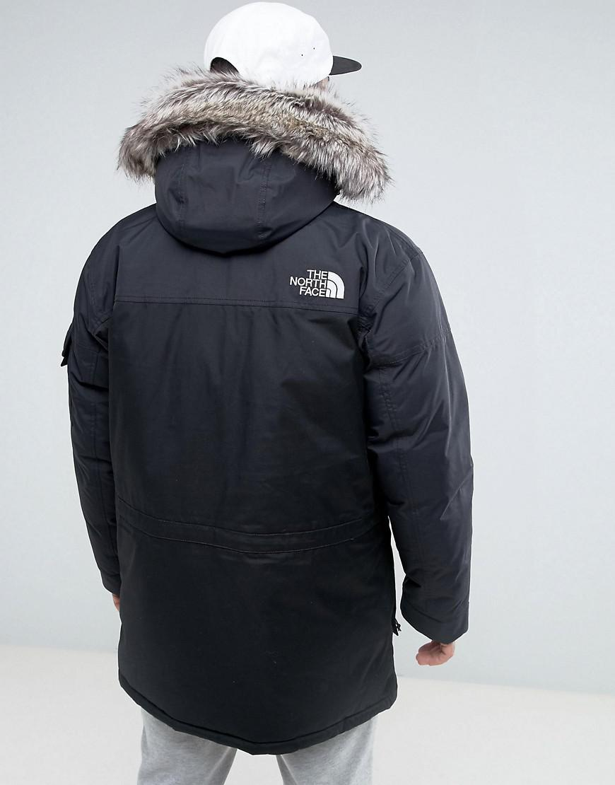 The North Face Mcmurdow Down Insulated Parka Jacket With ...