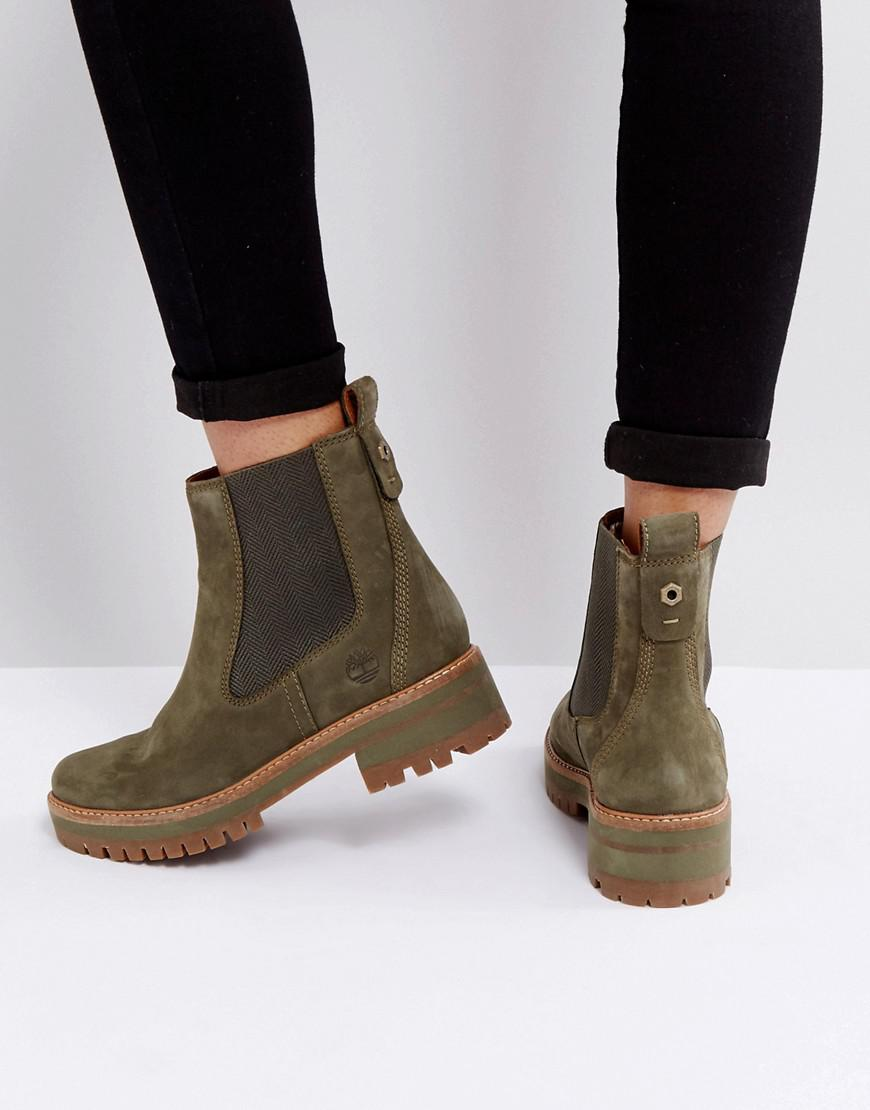 Fantastic KHAKI GREEN TIMBERLAND BOOTS On The Hunt