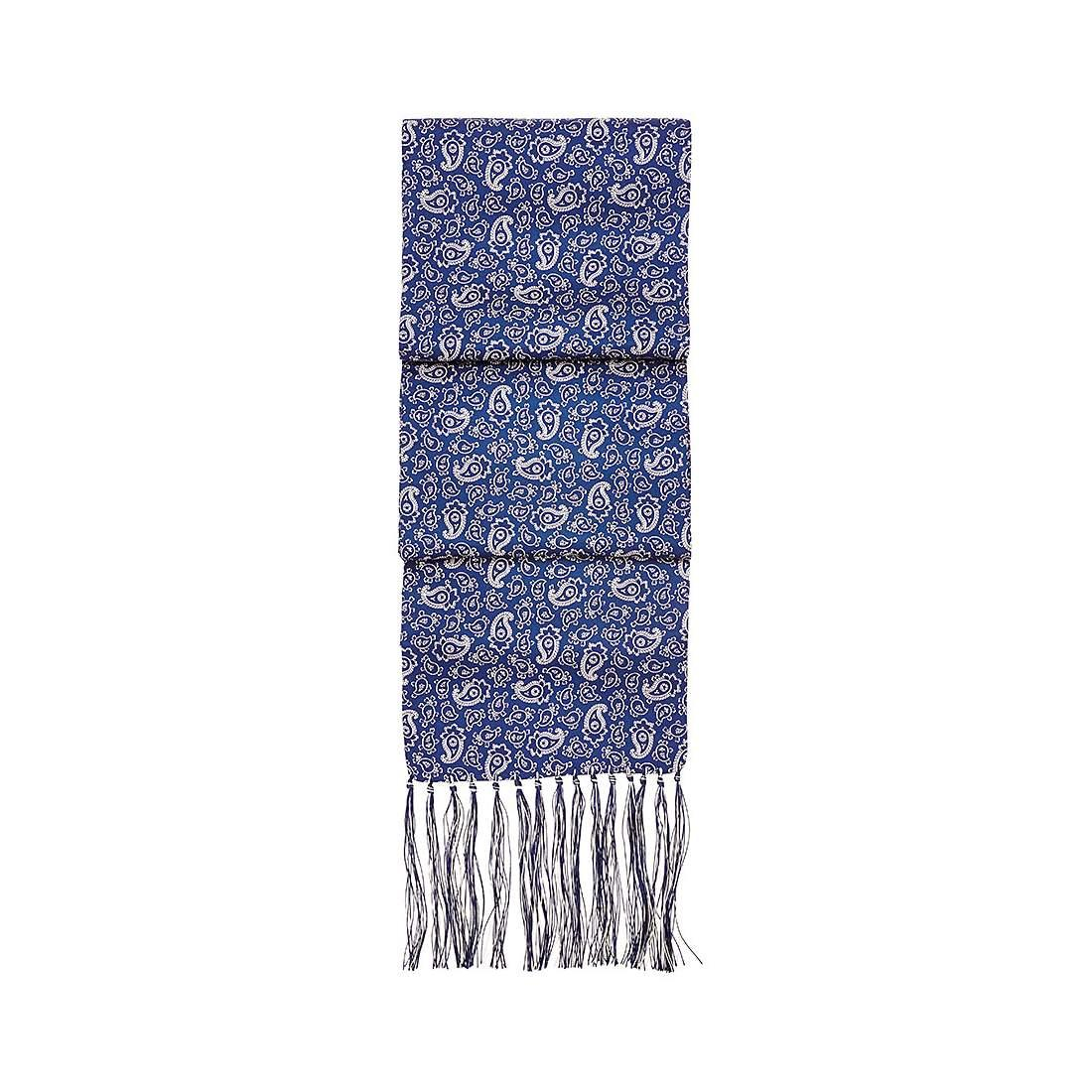 6701011ae Lyst - Aspinal of London Men's Paisley Silk Scarf in Blue for Men