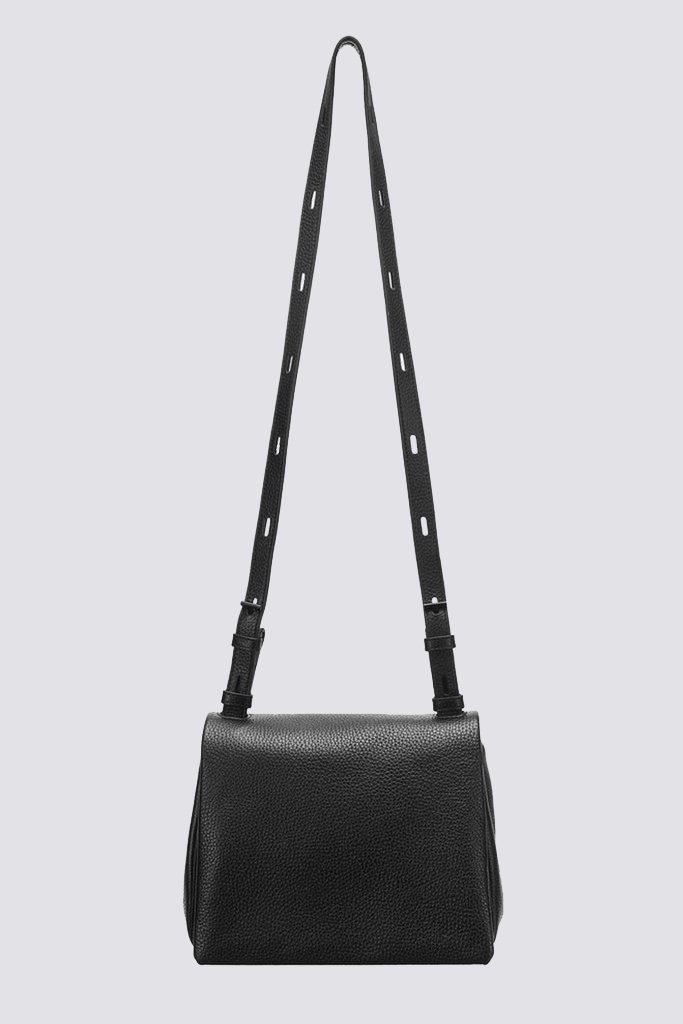 9b323520a6 Lyst - Kara Leather Mini Messenger in Black