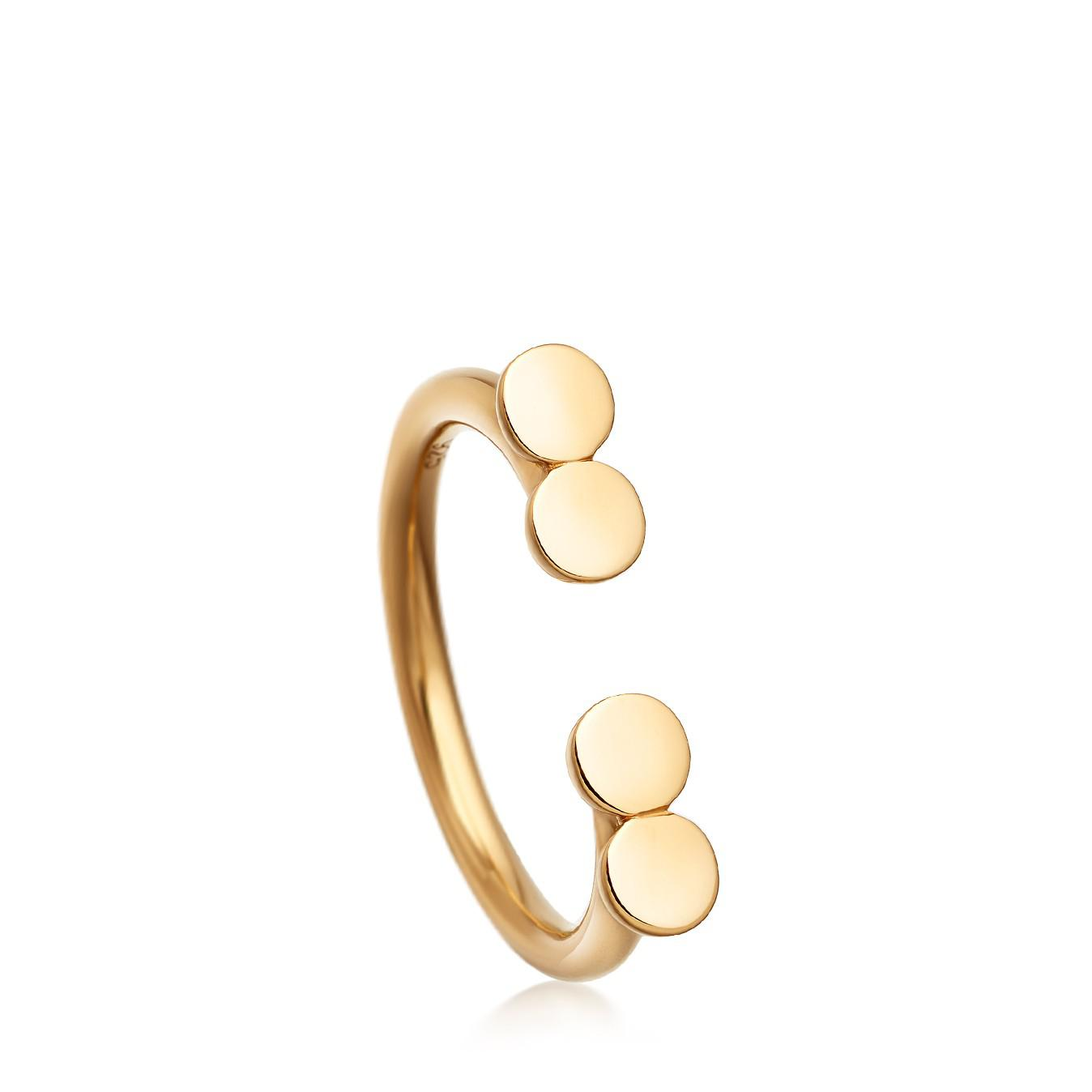 Disc Stilla ring - Metallic Astley Clarke K2z4jq6y