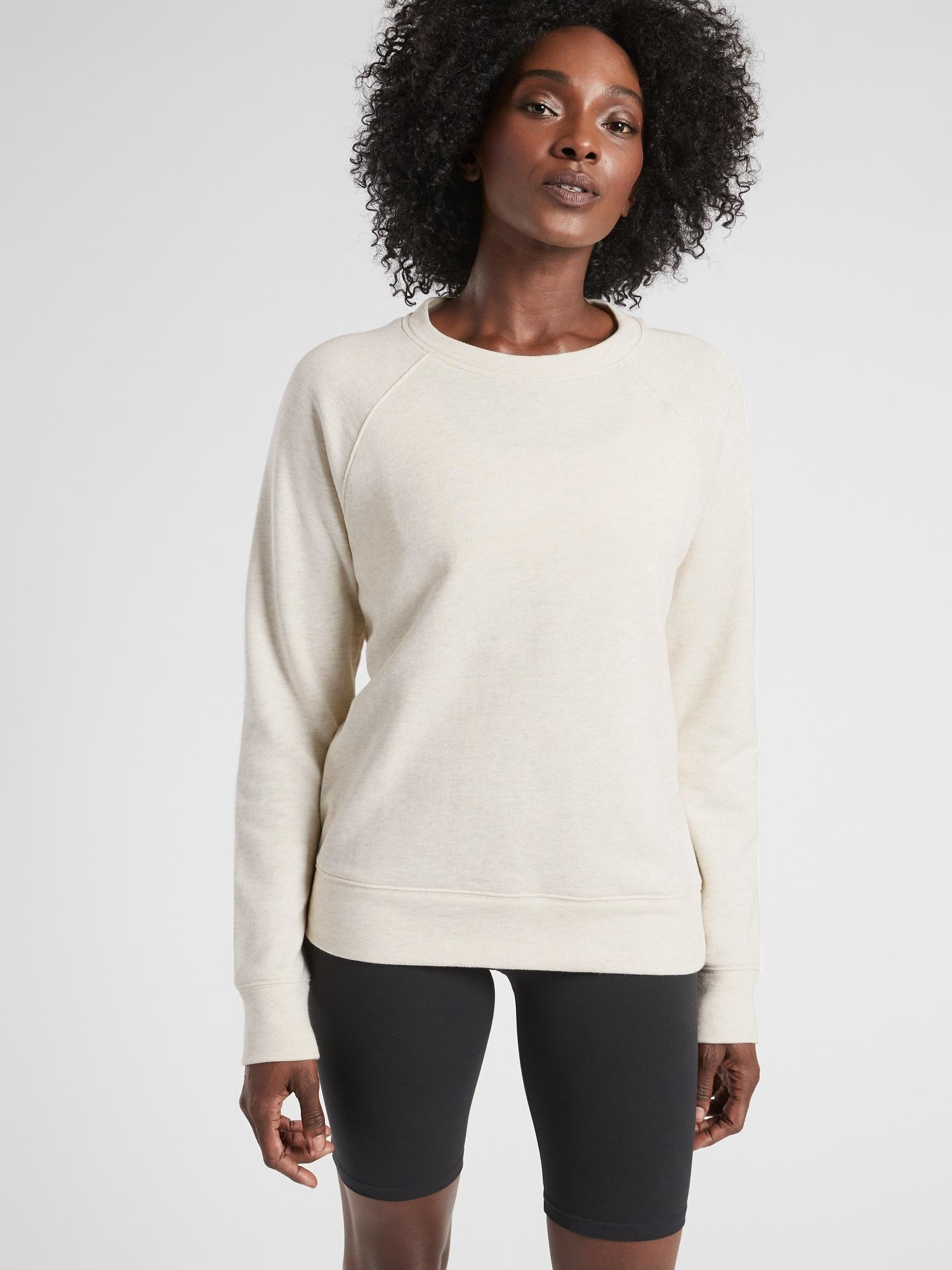 1d0be04f3d877 Lyst - Athleta Dynamic Crew in Natural