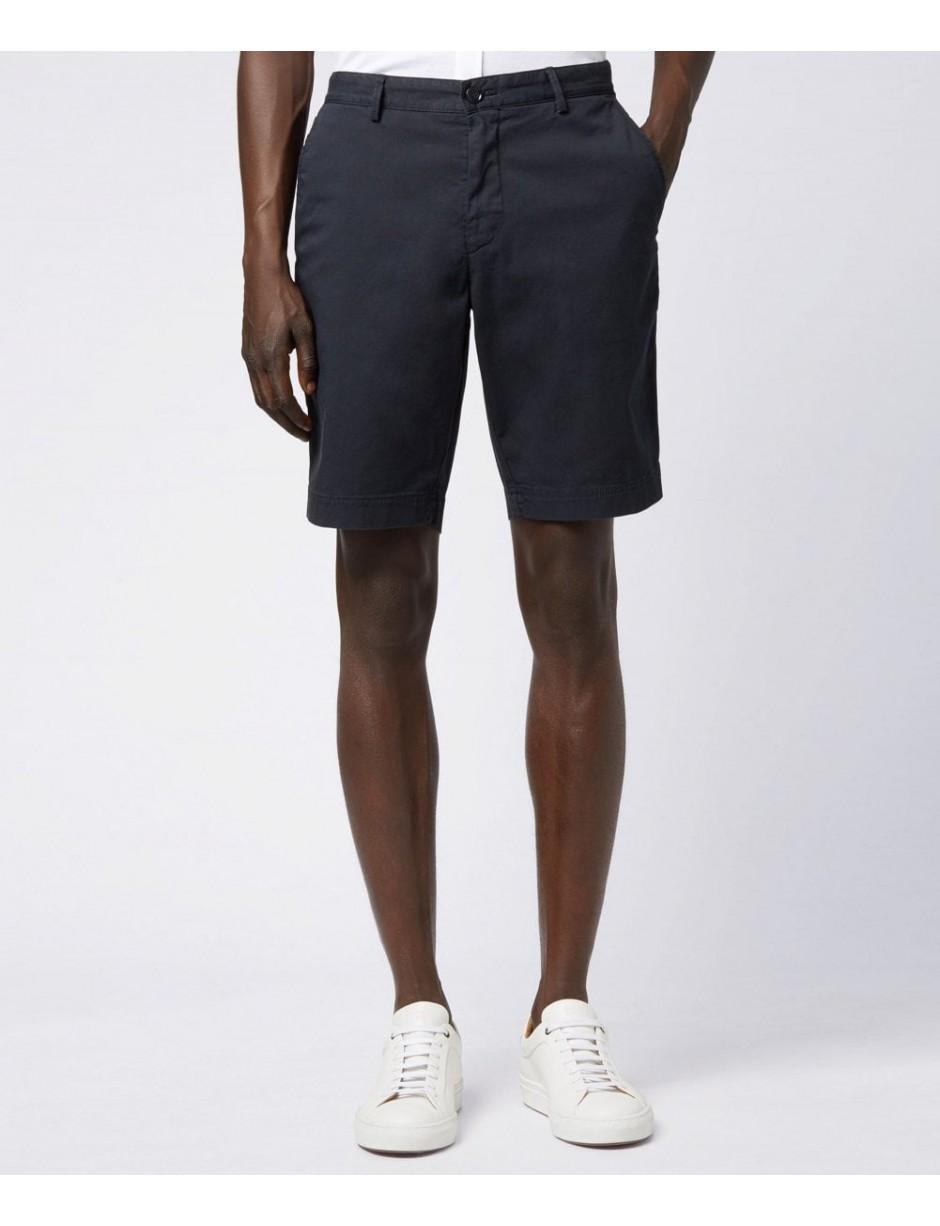 6291e61a BOSS Schino-slim Shorts in Blue for Men - Lyst