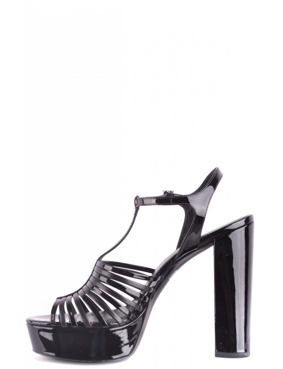 cef80b6b669e Lyst - MICHAEL Michael Kors Platform Sandals In Black in Black