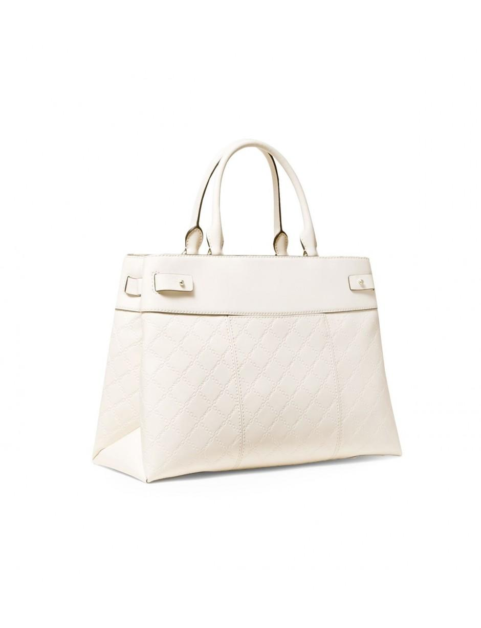 MICHAEL Michael Kors Michael Kors Gramercy Light Cream Large Satchel Bag in  Natural - Lyst 3f1a458a414